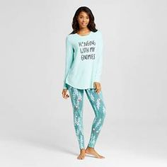 fc68b05b7411 Women's Pajama Sets - Xhilaration™ : Target Pajama Set, Pajama Pants, Stay  Warm