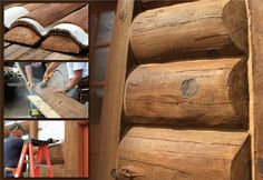 Glass Fiber Reinforced Concrete Log Siding