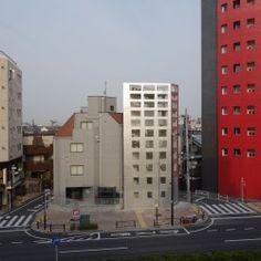 TAICHI MITSUYA . UNEMORI . vivienda en la calle YAMATE . Tokio (1)