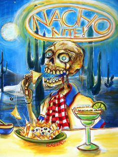Day of the Dead Art by Heather Calderon