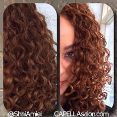 Chaley Rose's haircut  by Shai Amiel #DevaCut #DevaCurl