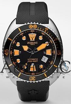 Zodiac ZO8012 Watch Oceanaire Mens - Black Dial