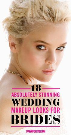 Wedding Makeup Brunette on Pinterest Victory Roll Hair ...