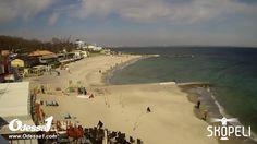 Odessa1.com - Черное море в прямом эфире, пляж «Ланжерон», Одесса, Black...