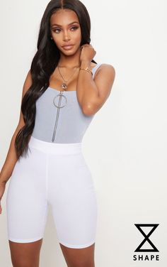 Shape Dusky Blue Slinky Ring Pull Low Back Bodysuit. Shop the range of curve today at PrettyLittleThing. Express delivery available. Order now