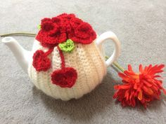 Love tea cosy for medium/large teapot cozy by SpecialHandmade444