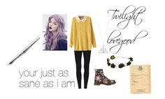 """""""twilight"""" by larahatter ❤ liked on Polyvore featuring Dr. Martens"""