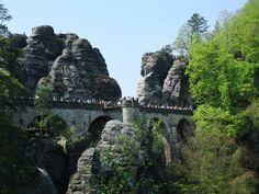 Bastei – perla Saského Švýcarska, Německo - Výlet