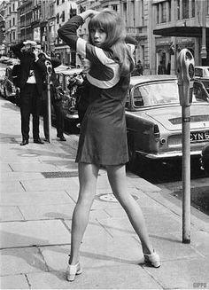 Patti Boyd the 1960's model whom married George Harrison and left him for Eric Clapton