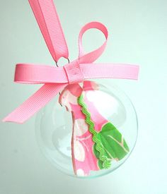 Lilly Pulitzer Shift Ornament #lillyholiday