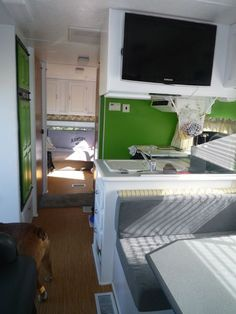 RV renovation ideas on Pinterest | Rv Redo, Campers and Motorhome