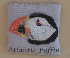 puffin fridge magnet by Ludi