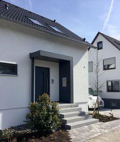 Eingangsüberdachung, Vordach, Haustürüberdachung Von Siebau