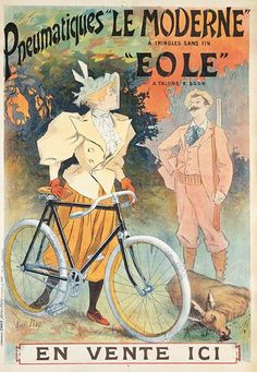 Bicycle Brands, Different Sports, Cycling Art, Edwardian Fashion, Vintage Bicycles, Auction, Painting, Fictional Characters, Om