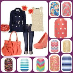 Jamberry nail...heat activated nail wraps in over 300+ styles and designs. Check them out at mackharper.jamberrynails.net