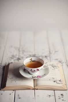"""""""You can't get a cup of tea big enough or a book long enough to suit me."""" C. S. Lewis"""