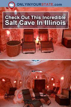 Travel | Illinois | Salt Cave | Relaxation | Spa | Places To Visit | Quiet