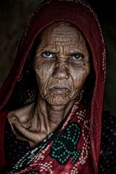 afar woman-she looks so angry.