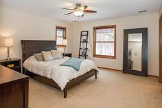 Spacious master suite  3847 Tessier Trail, Vadnais Heights, MN 55127  http://www.movingtominnesota.com/property-item/gorgeous-vadnais-heights-home/