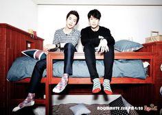 Flower boys of Roommate: Would you choose Park Min Woo or Seo Kang Joon? Seo Kang Joon, Kang Jun, No Min Woo, Lee Dong Wook, Korean Celebrities, Korean Actors, Korean Dramas, Korean Idols, Korean Music