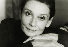 Audrey Hepburn in her later years....