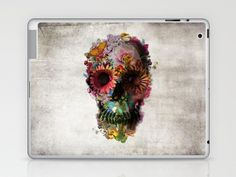 SKULL 2 Laptop & iPad Skin by Ali GULEC | Society6