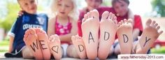 Father's Day Facebook FB Timeline Covers Kids, Children Pictures 2013