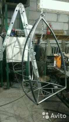 """Подвесное кресло для отдыха на даче.""""зерно отдыха""""— фотография №5"""