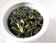 SALE Wild Blueberry Dreams Loose Leaf Tea by ChibiNaturals on Etsy