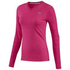 4aad8507d6bb adidas Sequencials Long Sleeve Heathered Tee Running Women