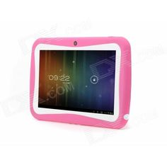 "iRulu AK714 7"" Android 4.0 Kid's Tablet PC w/ 512MB RAM, 8GB ROM, Dual-Cam - Pink Price: $67.38"