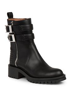 Givenchy - Nidra Leather Ankle Boots