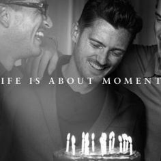 "Life is about moments"". Peter Lindbergh for Baume & Mercier"
