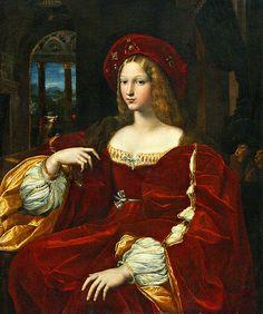 RAFFAELLO Sanzio, Dona Isabel de Requesens vice-reine de Napoli   #TuscanyAgriturismoGiratola