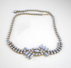 Vintage Milk Glass Jewelry