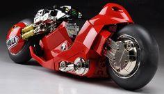 Incredible! I want one. Akira Bike By Katsuhiro Otomo