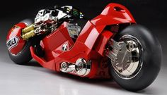 Incredible! I want one. Akira Bike By Katsuhiro Otomo