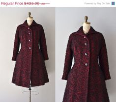 25% OFF... Far and Away coat  vintage 1940s princess by DearGolden