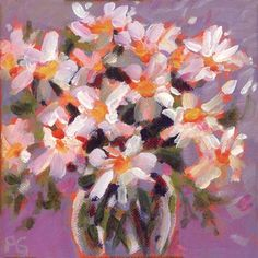 "Daily Paintworks - ""Daily Daisies"" by Pamela Gatens"