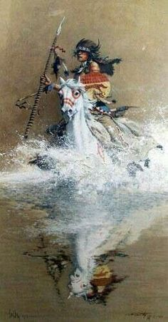 Native American & Western art prints by Frank McCarthy Native American Horses, Native American Pictures, Native American Artwork, Native American Beauty, Indian Pictures, Native American Artists, American Spirit, American Indian Art, American Indians