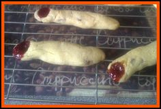Make It, Bake It: Baking: Witches Fingers Witches Fingers, Halloween Party, Sausage, Yummy Food, Party Ideas, Baking, Delicious Food, Sausages, Bakken