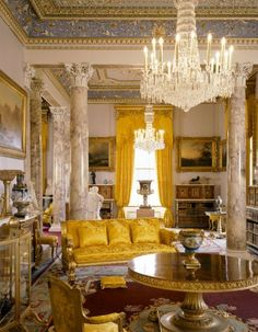 Home Design Drawing Osborne House, Drawing Room, former Island home of Queen Victoria and Prince Albert - English Interior, Classic Interior, Home Interior, Interior Architecture, Interior Design, Luxury Interior, House Drawing, Drawing Room, Home Decoracion