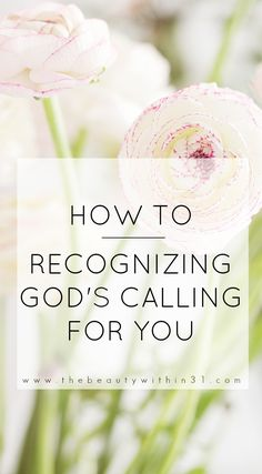 How to recognize God's calling for you in your life! Here's a list of bible verses to help with trusting God.