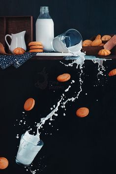 Milk from the top shelf by Dina Belenko on 500px