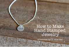 Making Mementos and Jewelry With Coins | Lil Blue Boo