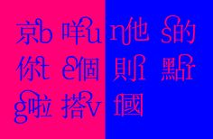 混植 Codemix: Latin font family for mixing use with written Cantonese – Julius Hui