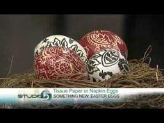 Elegant Easter Eggs Tutorial