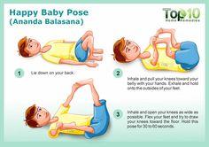 Happy Baby Pose yoga