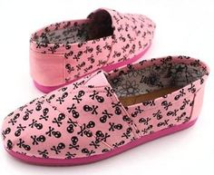 Toms latest Summer Candy Pink Skull