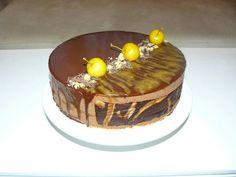 Chocolate mousse cake (recipe by Adriano Zumbo)